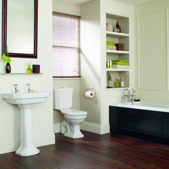Heritage Granley Deco Bathroom Suite