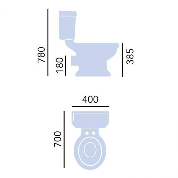 Heritage Granley Deco WC & Cistern Specification