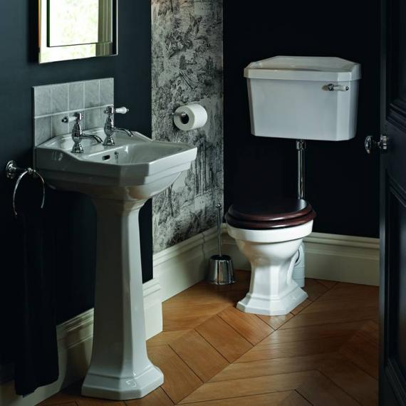 Heritage Granley Cloakroom Low Level Toilet & Basin Set