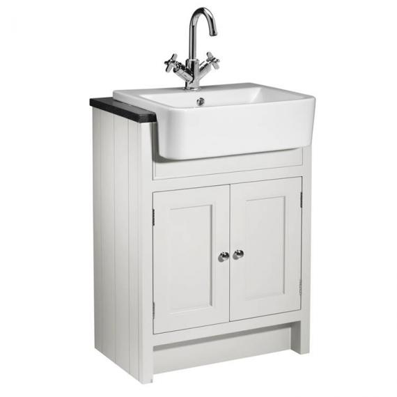 Roper Rhodes Hampton 600mm Chalk White Semi Countertop Unit & Basin