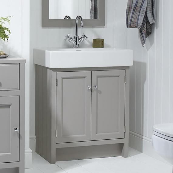 Roper Rhodes Hampton Mocha 700mm Countertop Unit & Basin