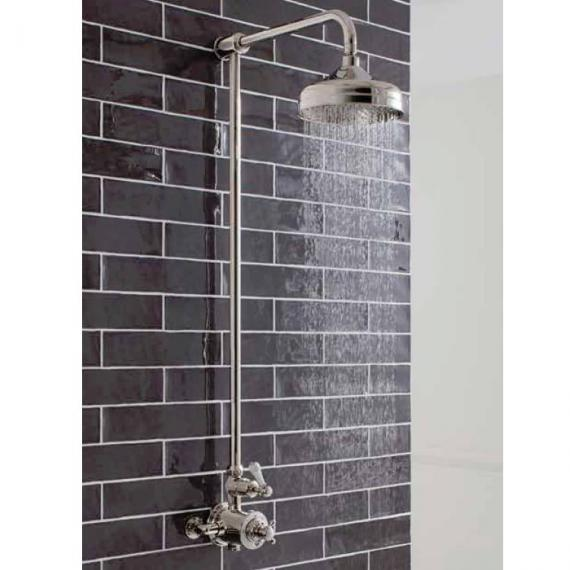 Crosswater Belgravia Nickel Exposed Thermostatic Shower Valve With 8