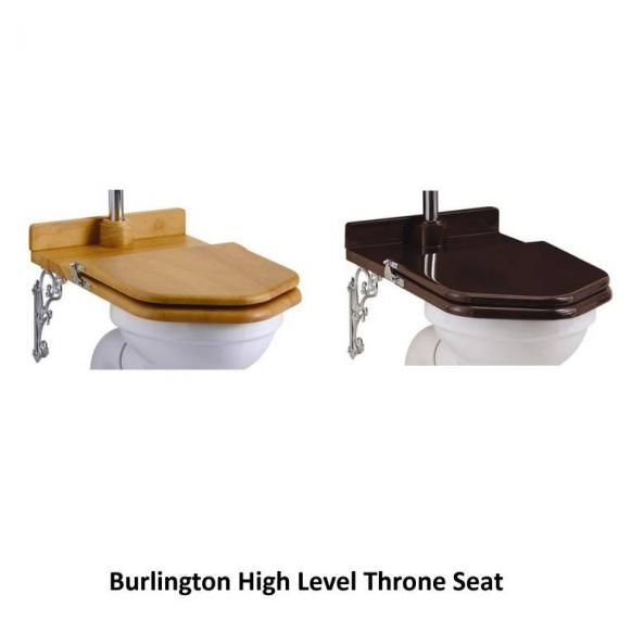 Burlington High Level Toilet & Cistern With Angled Flushpipes