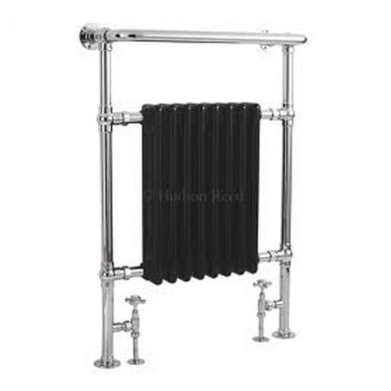 Hudson Reed Marquis Chrome & Black Heated Towel Rail