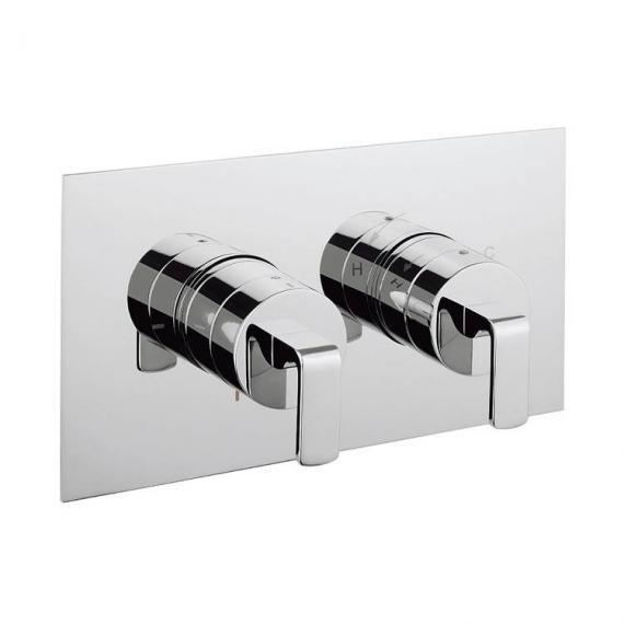 Crosswater Kelly Hoppen Zero 1 Landscape Thermostatic Shower Valve With Diverter