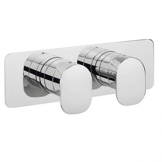 Crosswater Kelly Hoppen Zero 2 Thermostatic Shower Valve With 2 Way Diverter