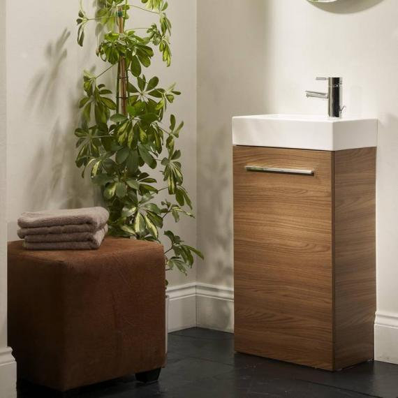 Tavistock Kobe 450mm Walnut Freestanding Unit & Basin