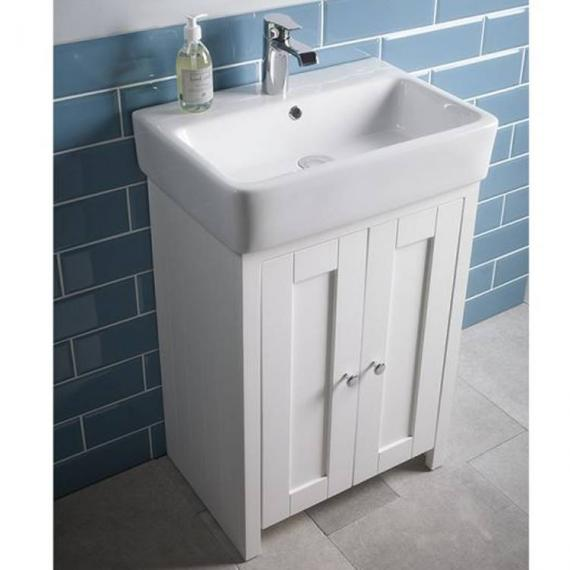 Tavistock Lansdown Linen White 570mm Freestanding Unit & Basin