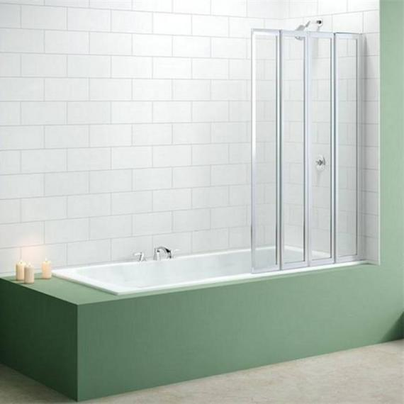 Merlyn MB4 Four Fold Bath Screen