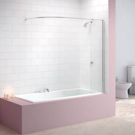 Merlyn MB5 Curtain Rail Bath Screen