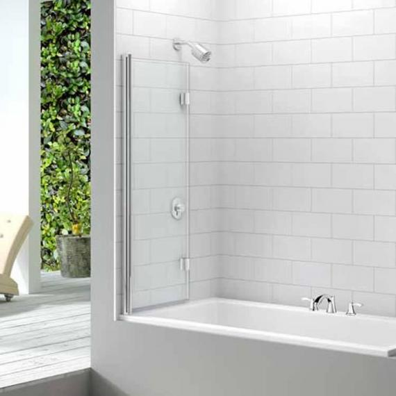 Merlyn MB8 Two Panel Folding Bath Screen