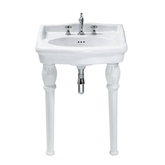 Heritage Victoria Standard Basin With Console Legs