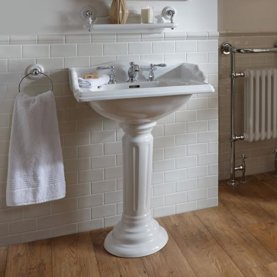 Imperial Oxford Square Large Basin and Pedestal