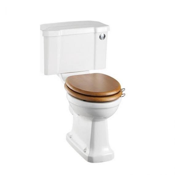 Burlington Regal Close Coupled Toilet With Front Button