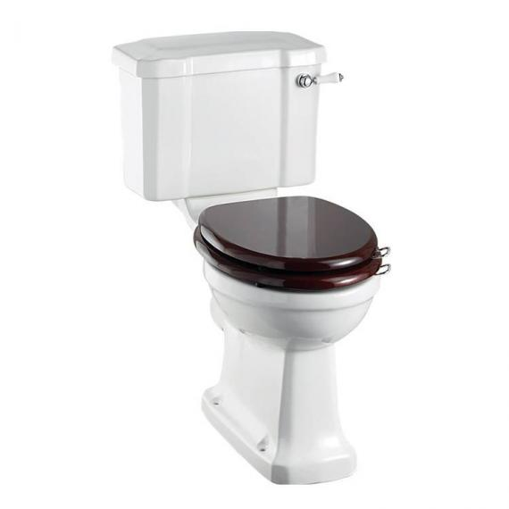 Burlington Regal Slimline Close Coupled Toilet With Lever Handle