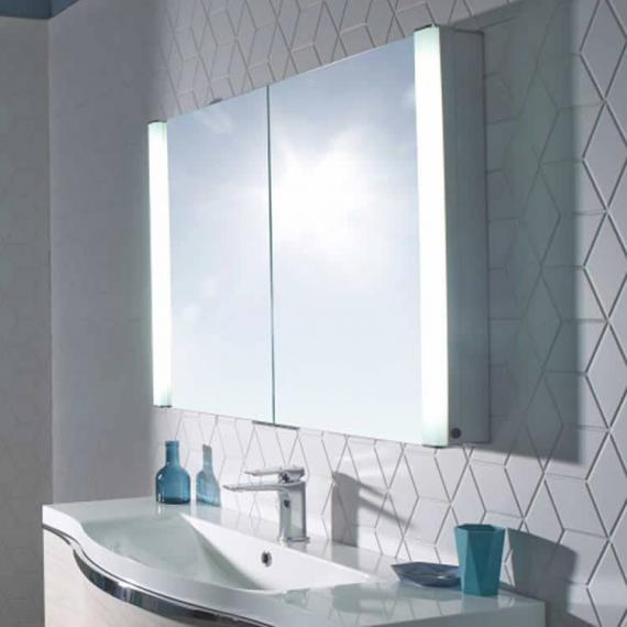 Roper Rhodes Perception Recessible Mirror Cabinet With Lighting