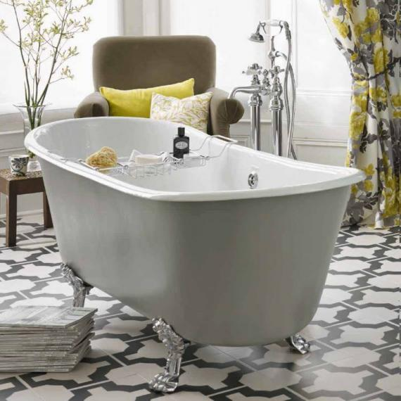 Heritage Porto Santo Bateau Cast Iron Double Ended Freestanding Bath