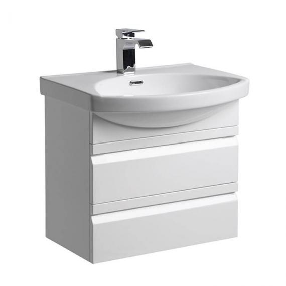 Roper Rhodes Profile Gloss White 600mm Wall Mounted Unit & Basin