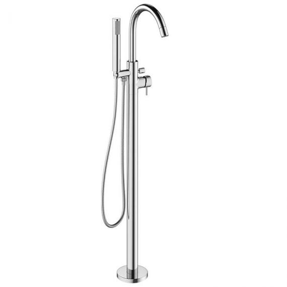 Crosswater Mike Pro Chrome Floorstanding Bath Shower Mixer