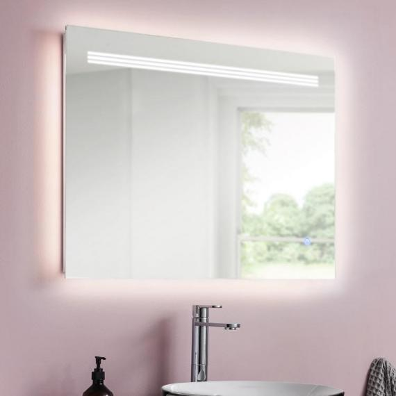 Bauhaus Radiance 800mm LED Ambient Lit Illuminated Mirror