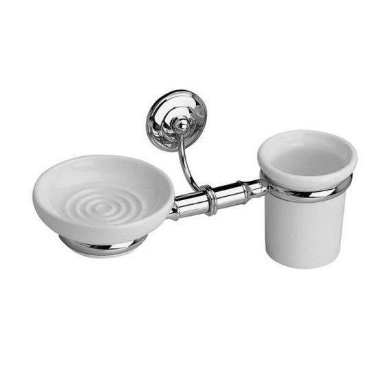 Imperial Rondine Wall Mounted Soap Dish & Tumbler