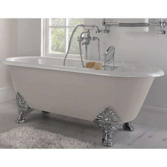 Imperial Roseland Double Ended Cast Iron Bath