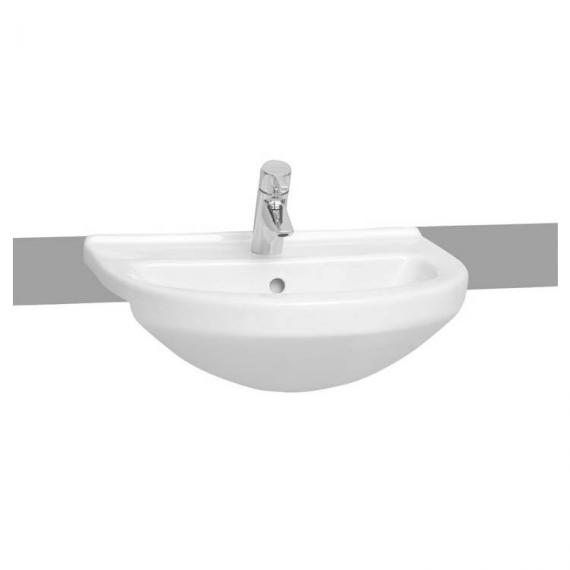 Vitra S50 Round Semi Recessed Basin