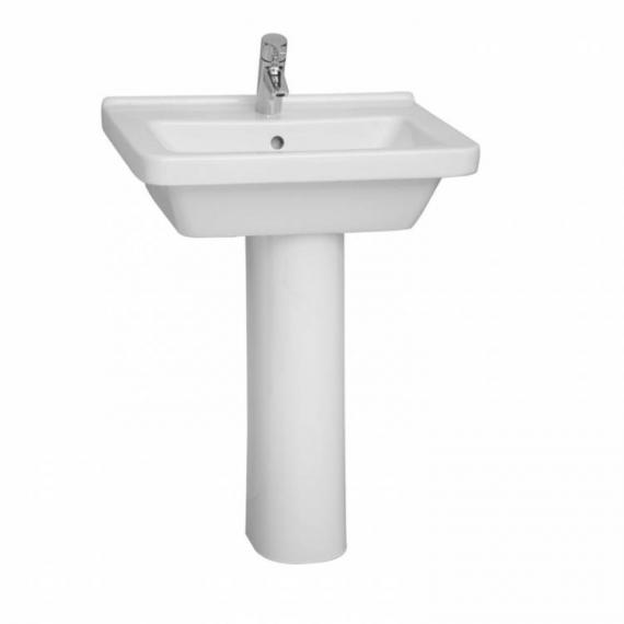 Vitra S50 550mm Square Basin & Pedestal