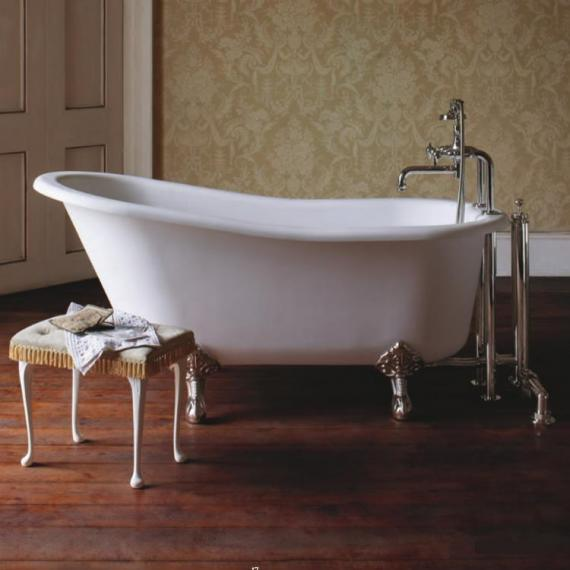 Arcade Sackville Natural Stone Freestanding Bath & Feet