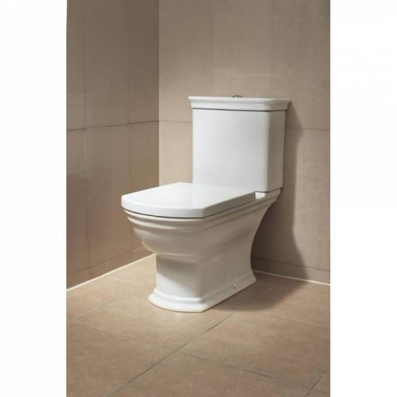 Vitra Serenada Close Coupled WC, Cistern & Seat - Image 2