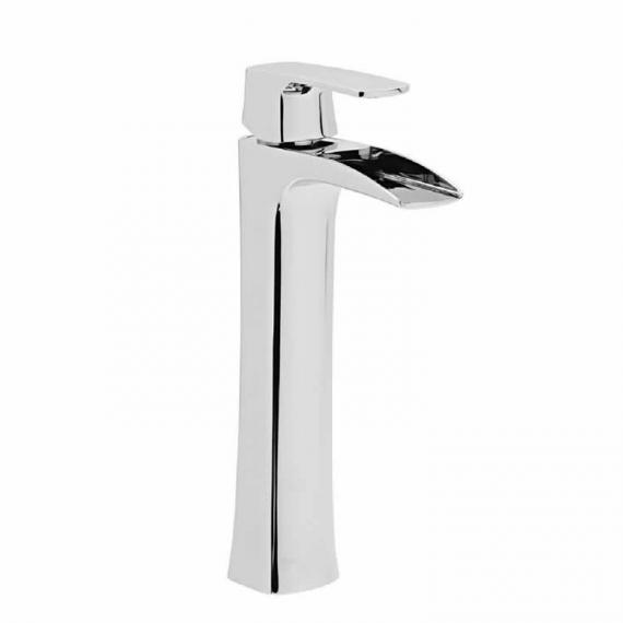 Roper Rhodes Sign Open Spout Tall Basin Mixer With Click Waste