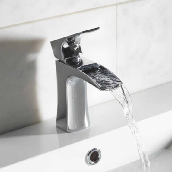 Roper Rhodes Sign Open Spout Basin Mixer With Click Waste