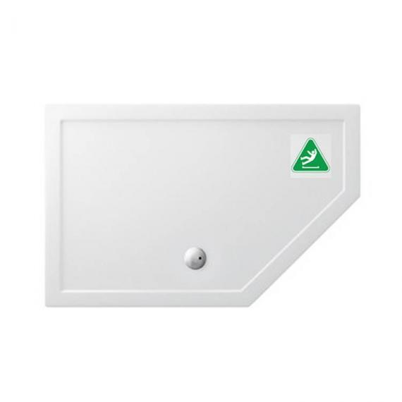 Simpsons 1400 x 900mm Pentangle 35mm Anti-Slip Shower Tray