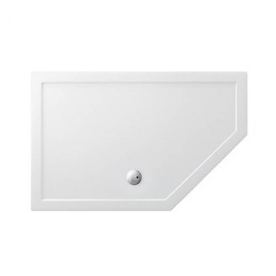 Simpsons 1400 x 900mm Pentangle 35mm Shower Tray