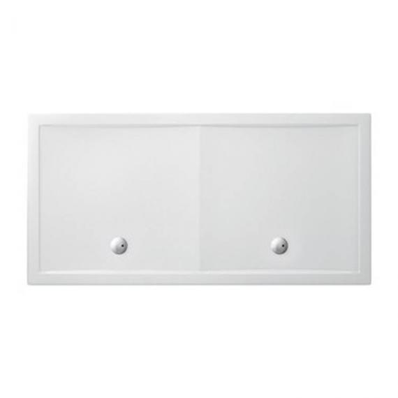 Simpsons 2000 x 1000mm White Rectangle 35mm Shower Tray