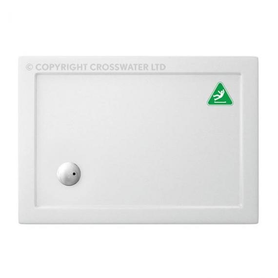 Simpsons 1000 x 900mm Anti-Slip Rectangle 35mm Shower Tray