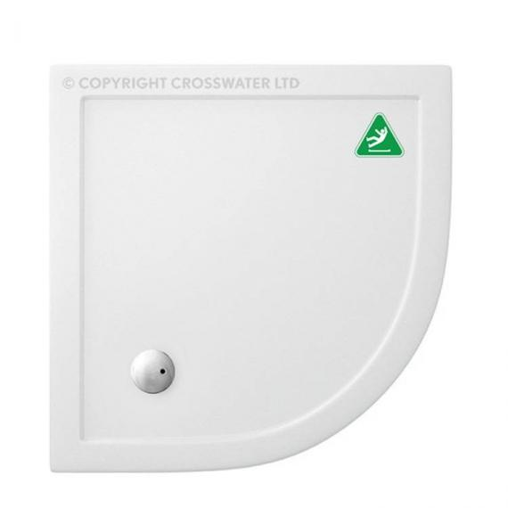 Simpsons 900 x 900mm Quadrant 35mm Anti-Slip Shower Tray