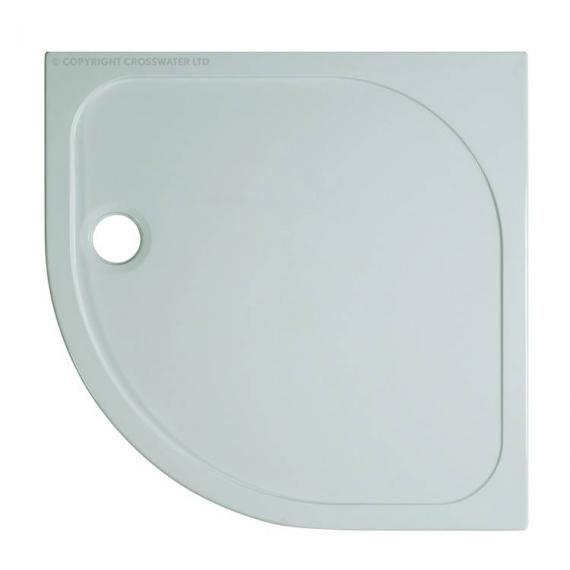 Simpsons 800 x 800mm 45mm Quadrant Stone Resin Shower Tray
