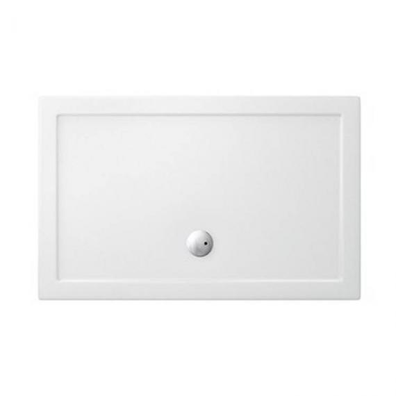 Simpsons 1400 x 900mm White Walk In 35mm Shower Tray
