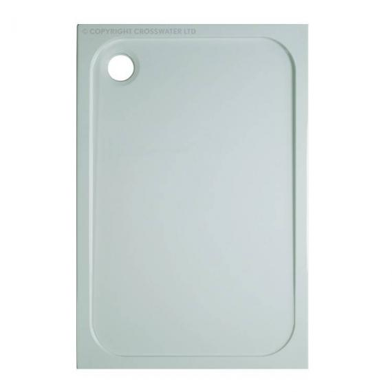 Simpsons 1200 x 800mm 45mm Rectangle Stone Resin Shower Tray