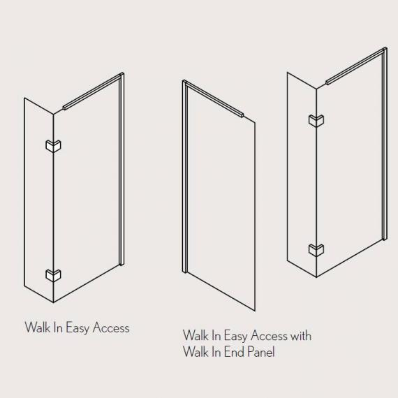 Simpsons Elite Walk In Easy Access Panel Specification