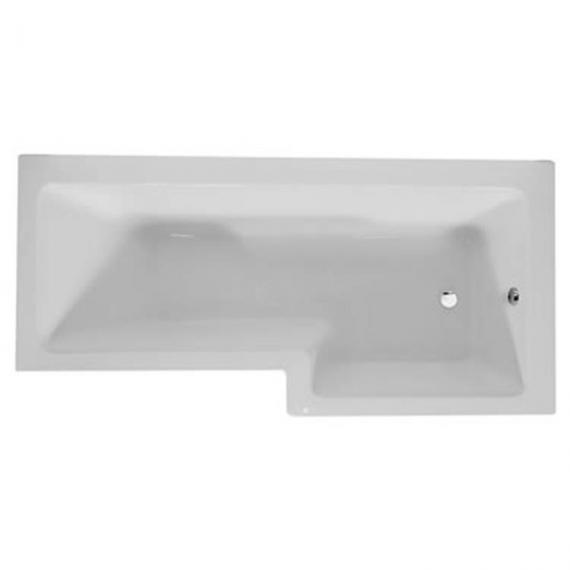 Sommer L Shaped 1700mm Shower Bath & Screen