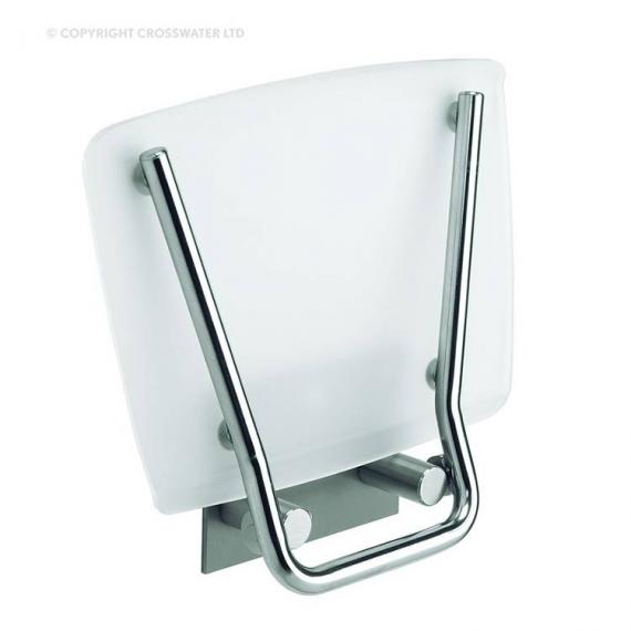 Simpsons Square Wall Mounted Folding Shower Seat