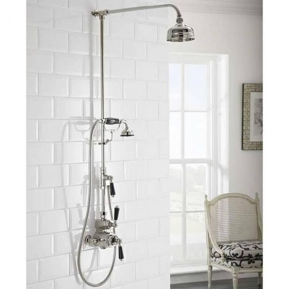 St James Exposed Thermostatic Shower Valve with 5