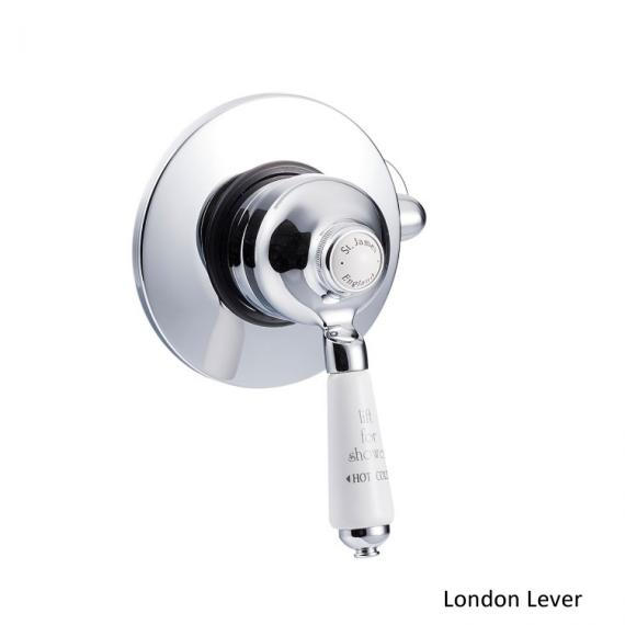 St James Concealed Manual Shower Valve With 4