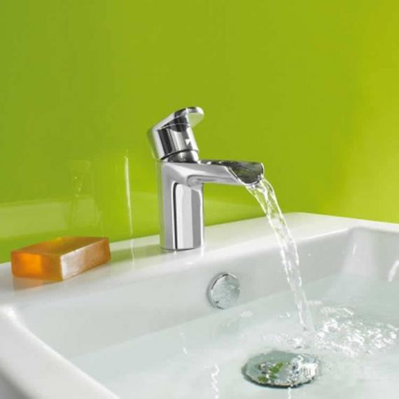 Roper Rhodes Stream Open Spout Basin Mixer With Click Waste - Image 2