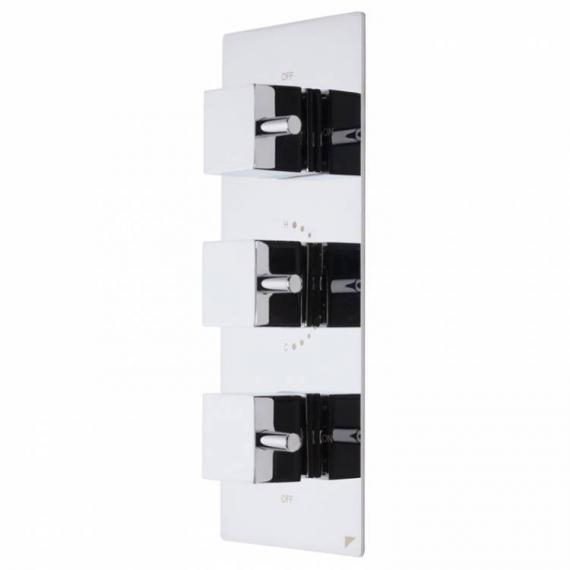 Roper Rhodes Event Square Thermostatic Triple Function Shower Valve With Diverter
