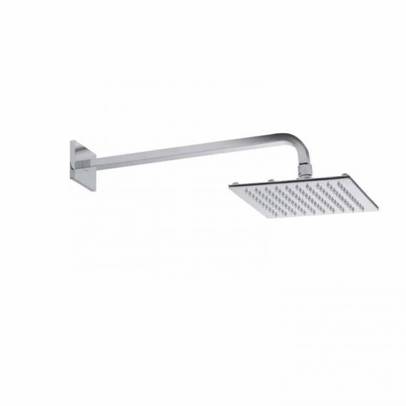Roper Rhodes Square 200mm Polished Stainless Steel Shower Head & Arm