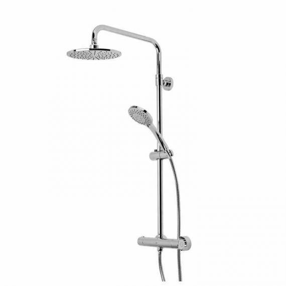 Roper Rhodes Event Round Dual Function Exposed Shower System