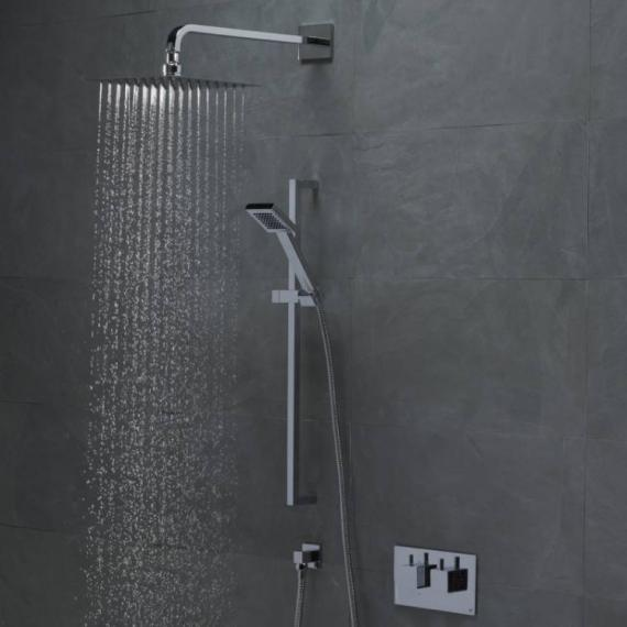 Roper Rhodes Event Square Dual Function Shower System With Stainless Steel Head - Image 2